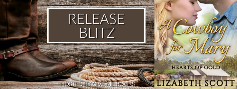 A Cowboy for Mary Release Blitz Giveaway