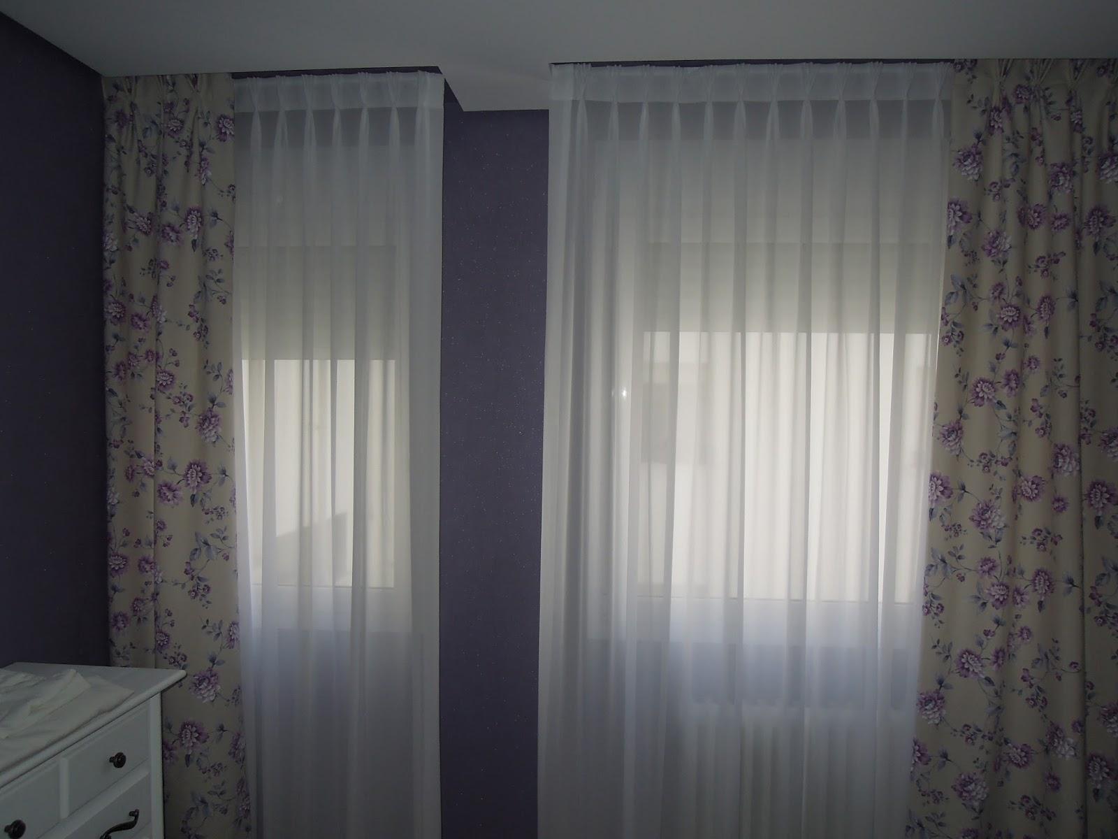 Fotos de cortinas for Como poner ganchos cortinas