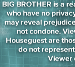 Big Brother 15 Disclaimer