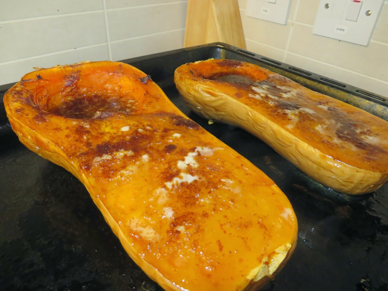 baking butternut squash sugar butter puree