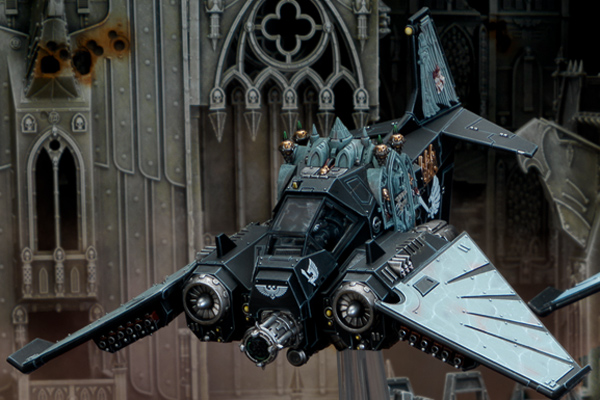 Espolón del Ala de Cuervo y el Caza Nephilim