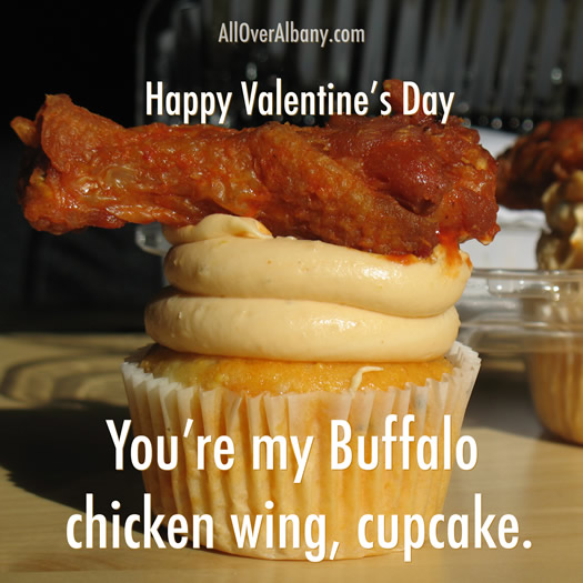 Chicken Wing Cupcake