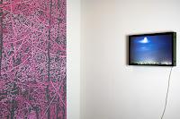 Richard Müller: Peinture murale détail et Vue de l'atelier (Ivry)