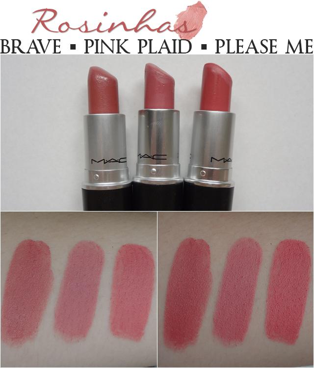 mac pink plaid vs please me - photo #4