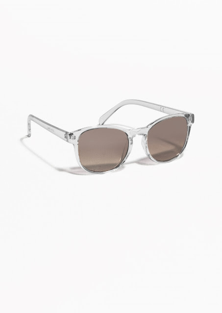 clear frame sunglasses,