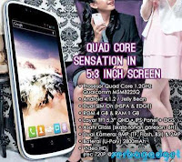 Harga Phablet K-Touch Titan S100 Terbaru 2013 Hp Android Quad Core