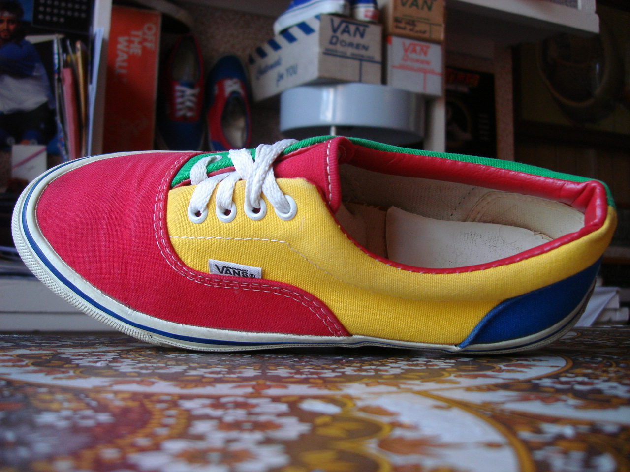 vans primary colors