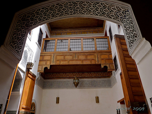 Moorish wood style moroccan interior design for Moorish homes