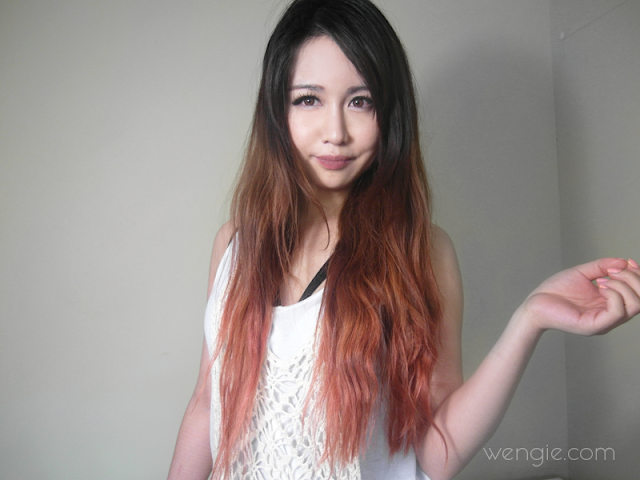 Ombre Hair And Chemical Free Tinting  Tutorial  Wengiecom  Beauty Fash