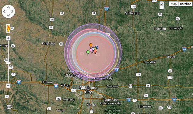科学家感到迷惑 一天20次地震袭击了俄克拉何马州 - Omega Ministry - 中國朝顏事工