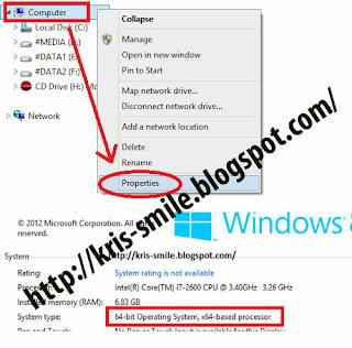 4 Cara Cek Apakah Windows Terpasang 32 bit atau 64 bit