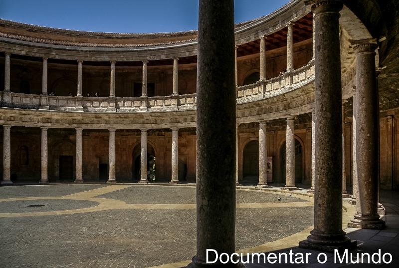 Palácio Carlos V, Alhambra, Granada, Espanha