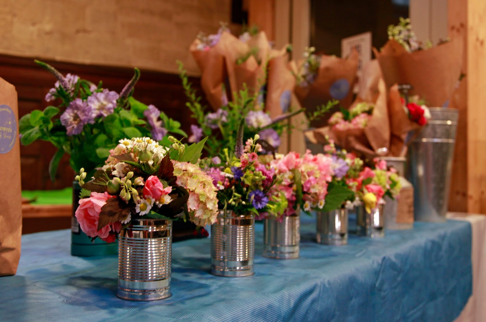 Flowers by Shamini: British flowers at the Summer Tumblr Eco-Design Fair