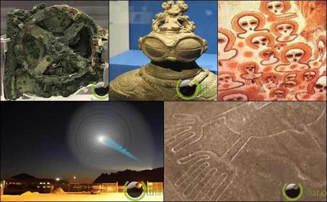10 Peninggalan Aneh Misterius yang di Duga Buatan Alien