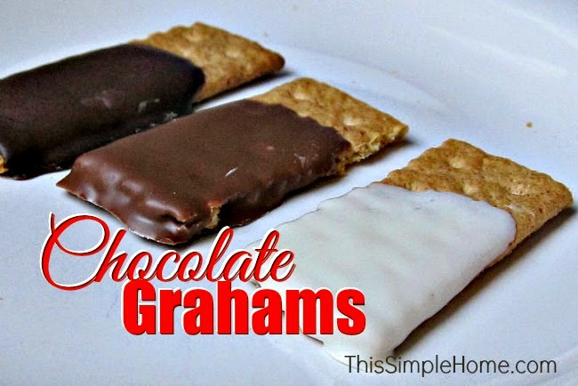 Chocolate-Covered Graham Crackers