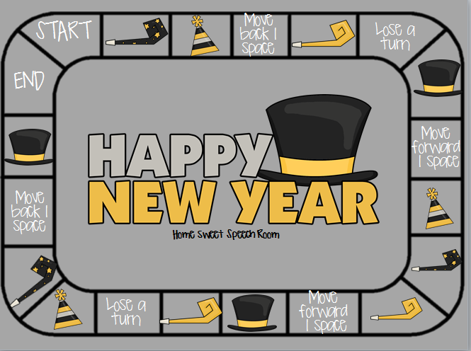Carrie's Speech Corner: Guest Post: New Years Packet from Home ...
