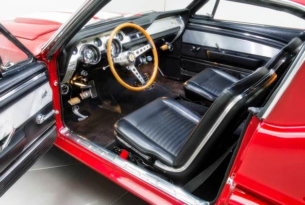 1967 Shelby GT500 Tribute RK527 Interior
