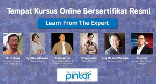 Kursus Online Indonesia Sekolahpintar.com