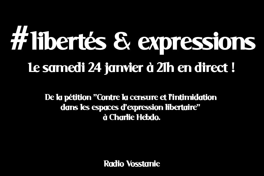 Emission de la web radio Vosstanie - Le Samedi 24 Janvier 2015 - En téléchargement.