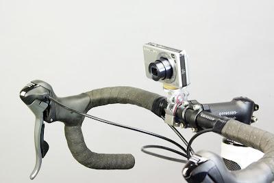 Attacco della Minoura per fotocamera compatta e bicicletta