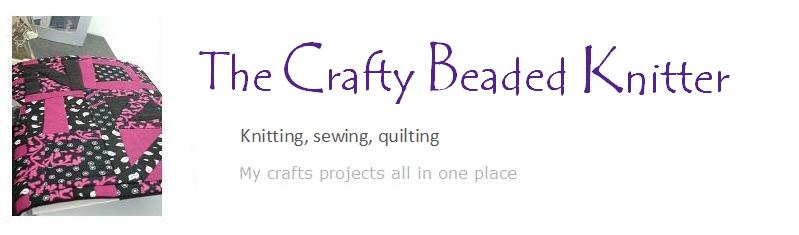 Crafty beaded knitter