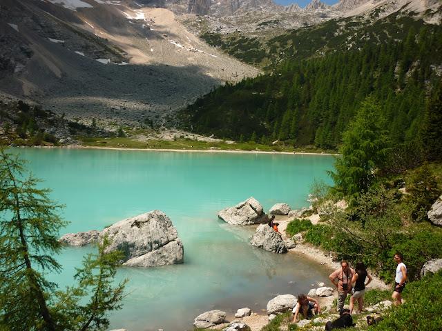 escursione al lago sorapiss