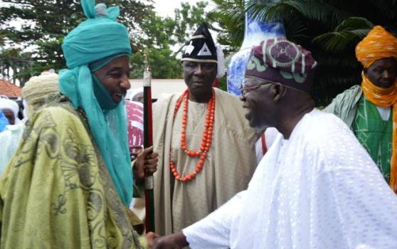 Emir of Kano, Sanusi Lamido Sanusi Pays Bola Tinubu A Visit In Lagos – Photos