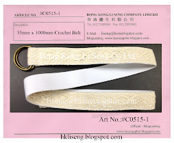 D-Ring Crochet Belt Manufacturer - Hong Kong Li Seng Co Ltd