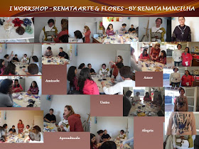 I Workshop da Renata Arte & Flores