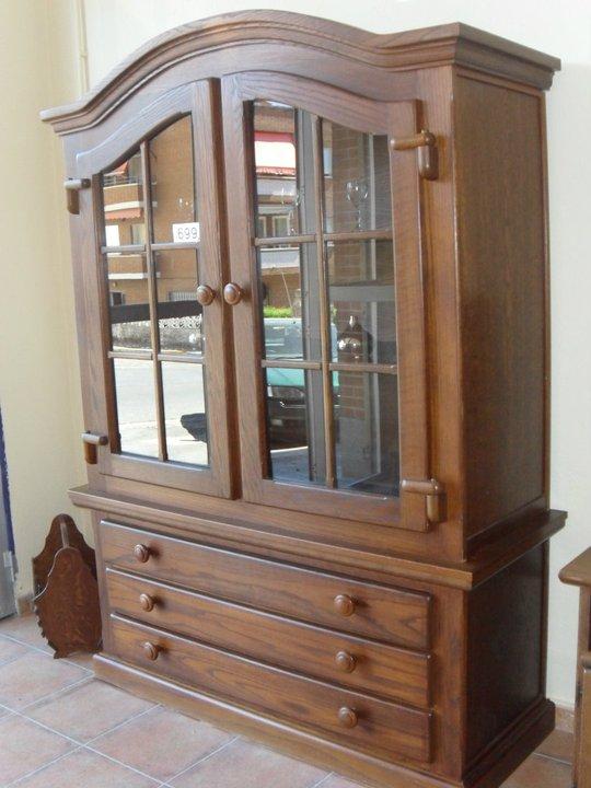 De madera maciza librer as y vitrinas - Libreria de madera ...