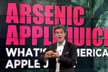 tv's dr. oz accused of fear-mongering on apple juice