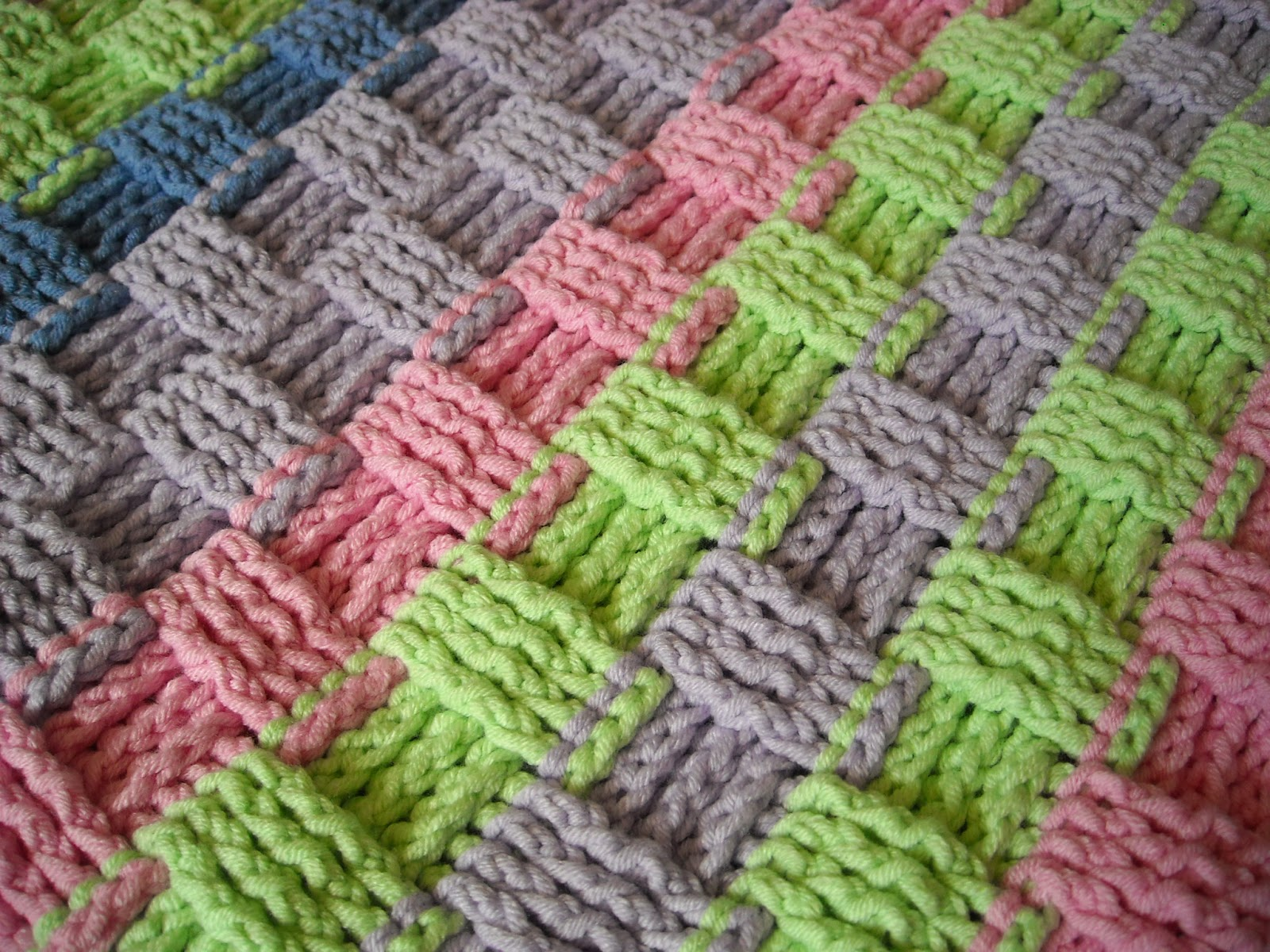Crochet Basket Weave Afghan Baby Blanket Pattern And Tutorial : Everything Springer A to Z: Introducing My Etsy Shop ...