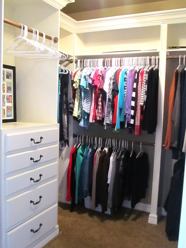 Life With Both Hands Full Totally Organized Tuesdays Master Bedroom Closet Part 2