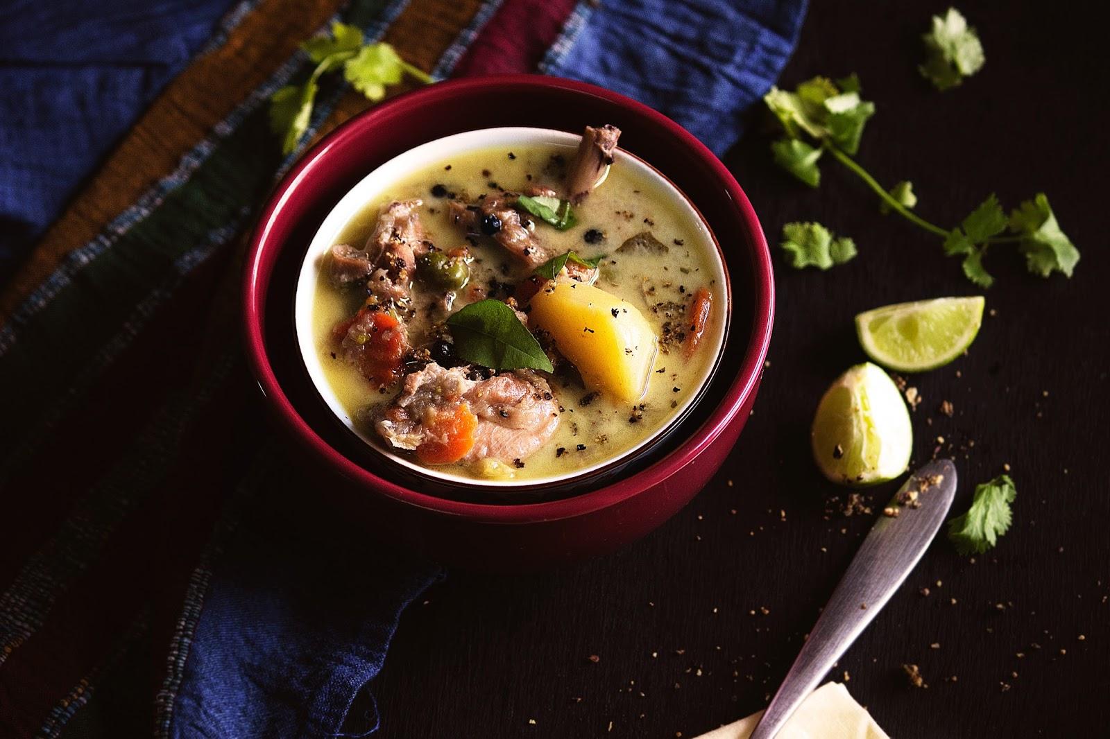 recipe for chicken stew with coconut milk