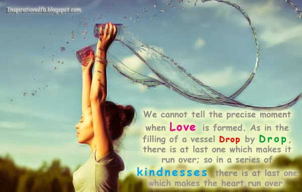 Love Quote | Love Drop by Drop