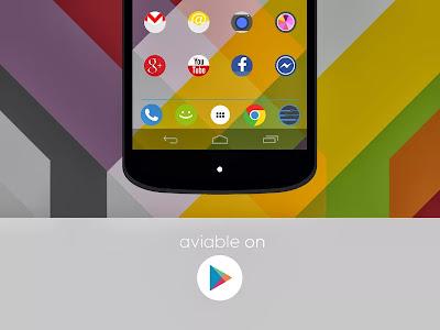 Apps Android : FlatDroid Go/Apex/Adw/Nova v3.4.2 Apk