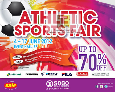 Sogo KL Athletic Sports Fair