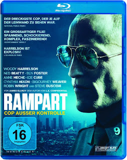 Rampart Blu-ray Cover