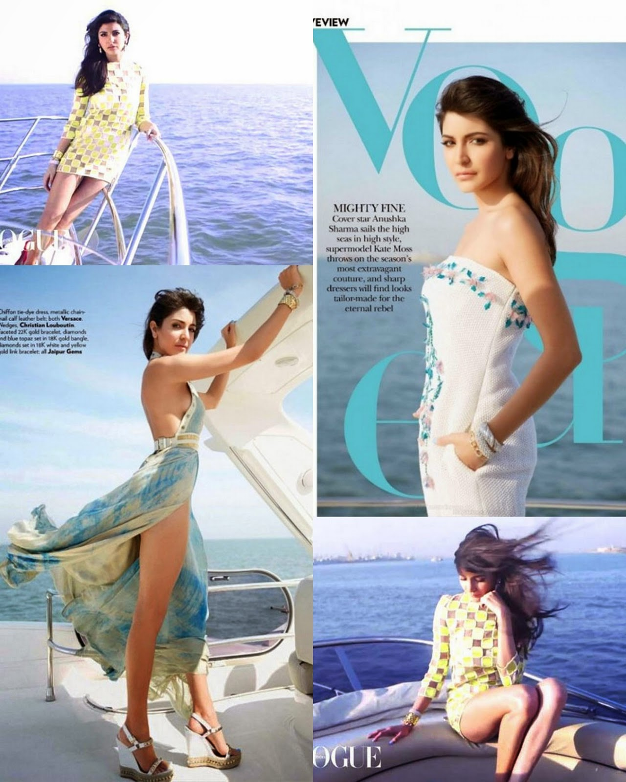 Anushka Sharma Hot Vogue Magazine Photoshoot