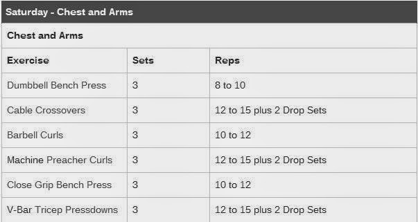 Sean Sullivan's Back Specialization Workout