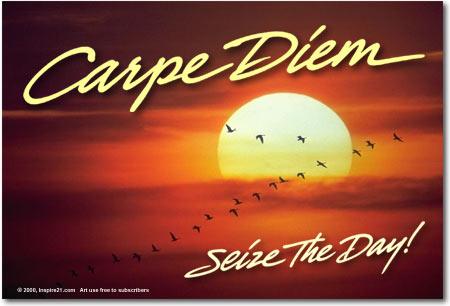 Teropongskop carpe diem for Carp meaning