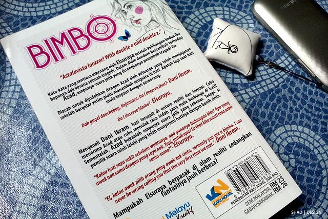 BIMBO karya Rin Ahmad | Novel Review