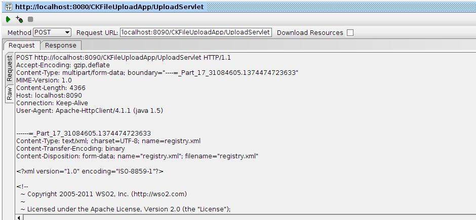 html form file:
