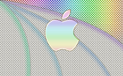 Elegant Apple Rainbow Wallpapers