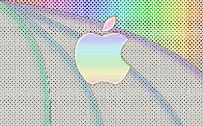 Elegant Apple Rainbow Wallpapers