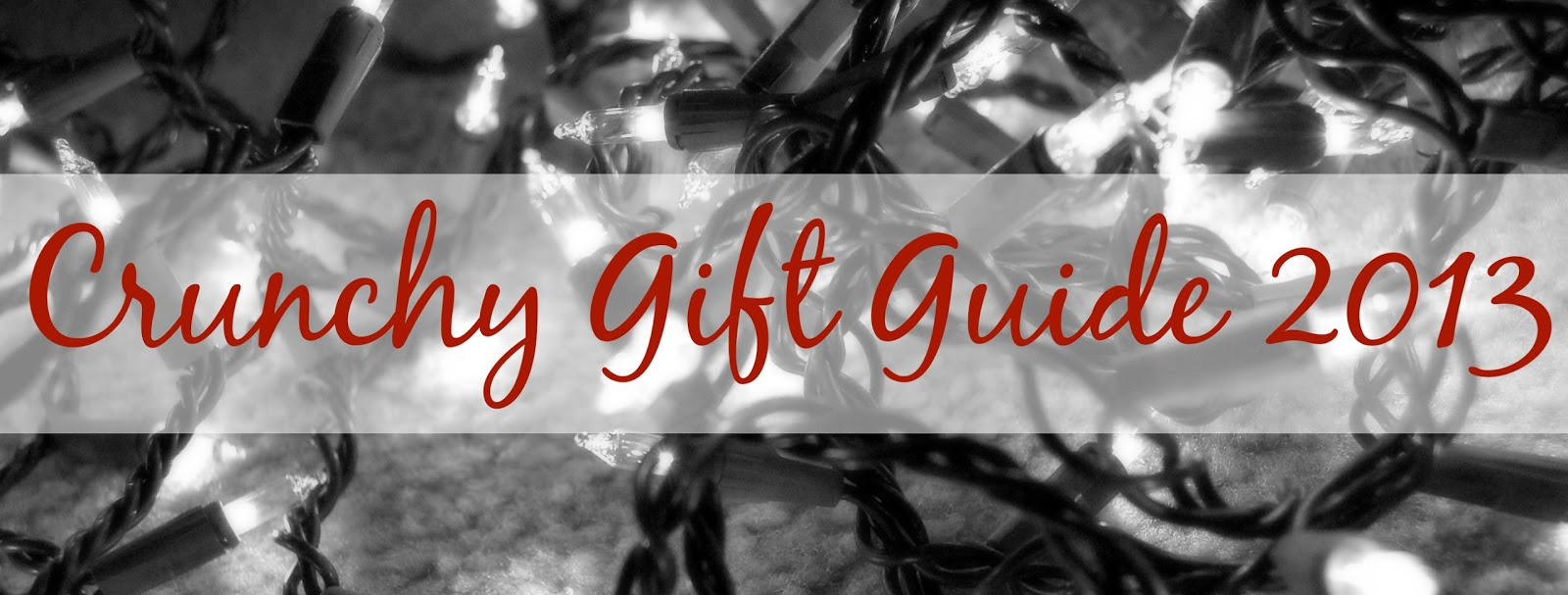 Crunchy Gift Guide 2013 - Kids
