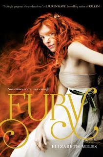 Fury New YA Book Releases: August 30, 2011