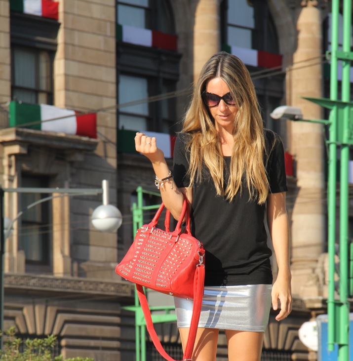 Zocalo, Mexico City, fashion blogger