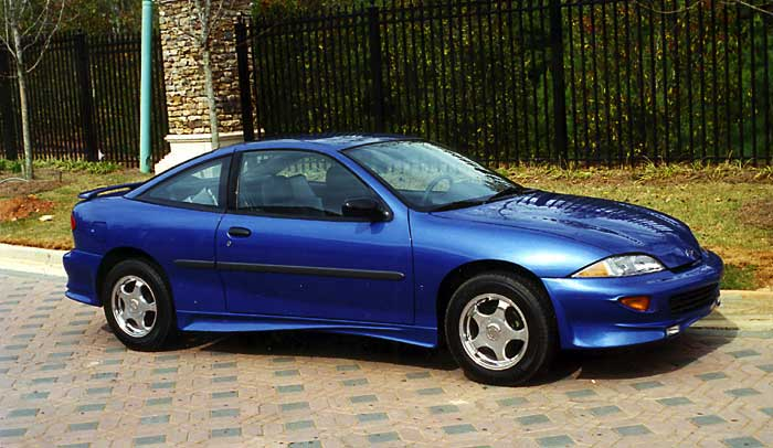 2002 Chevy Cavalier Service And Owner Manual