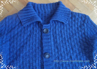 men's knitted cardigan